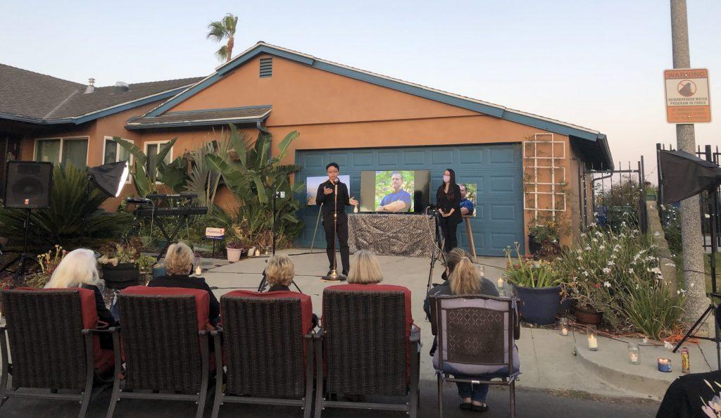 Brian Kan honors Rich at Vigil 2020